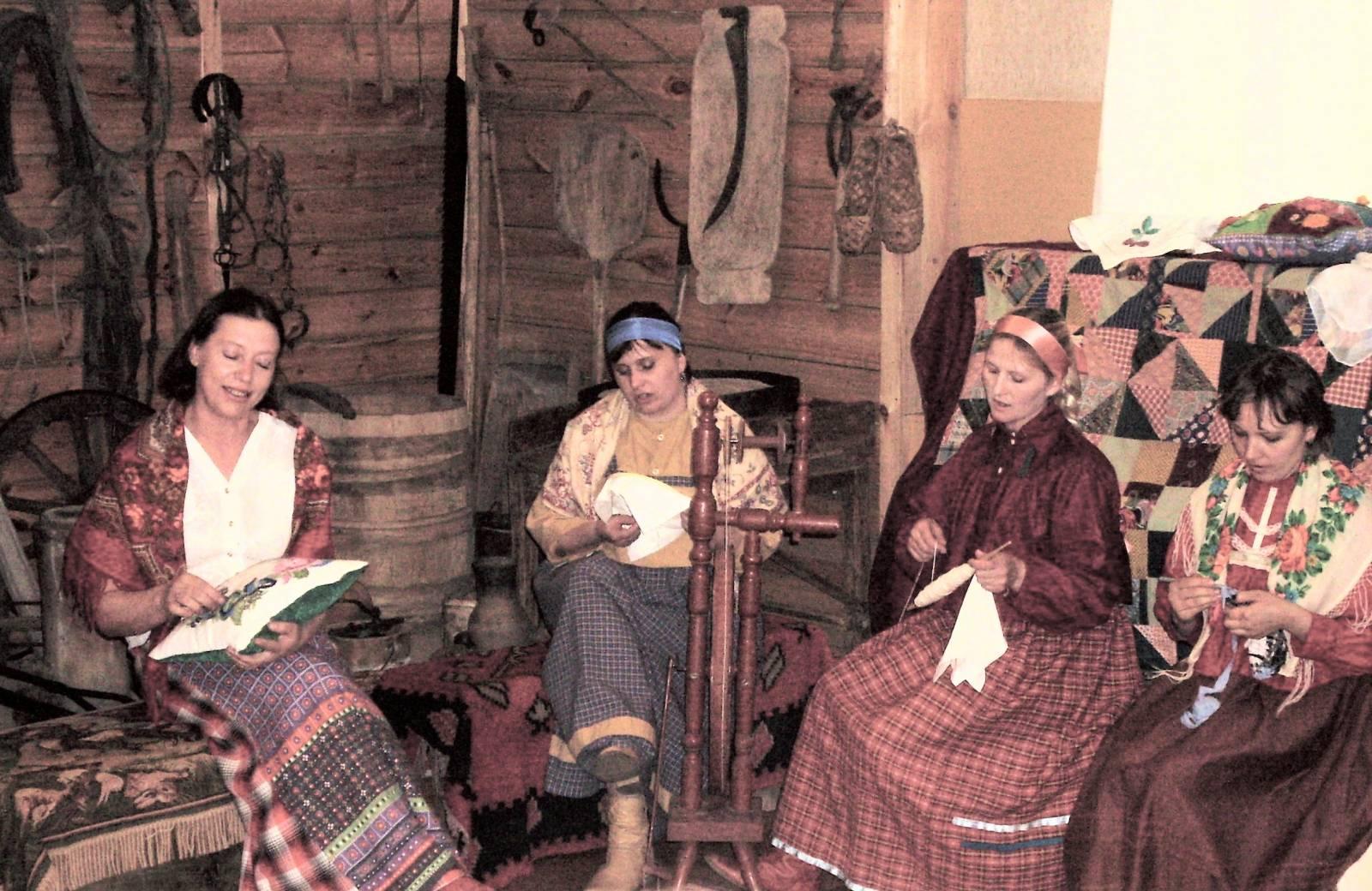 О вязании в деревнях 361